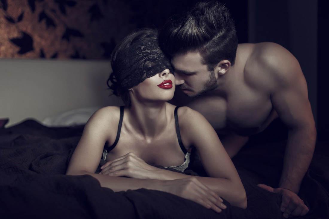 Sex swing in the bedroom